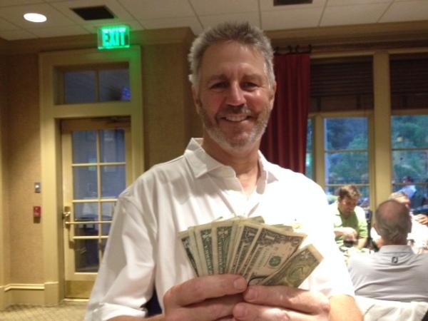 4-14-15 Low Net (and Low Gross) Winner Mike Schmal