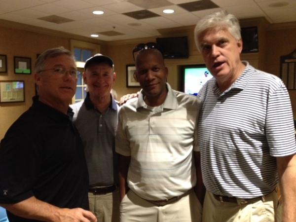 4-28-15 Winning Team: Doug Gooding, Don Nichols, William Thornton, Kevin McGlynn
