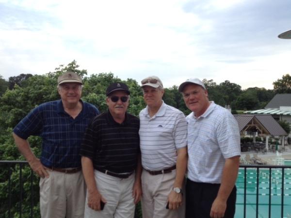 5-12-15 Winning Team: Jeff Colbath, Tom Kisgen, Craig Sellner, Tim Martin