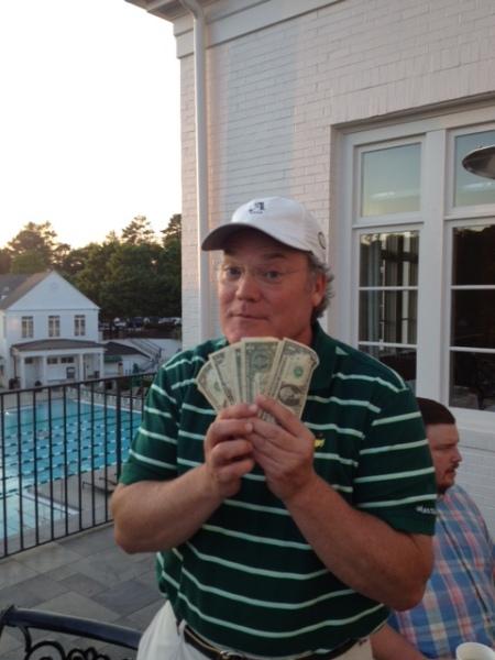 5-5-15 Low Net Winner Tim Martin