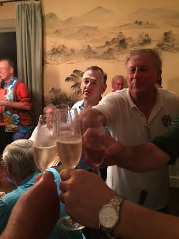 6-23-15 Champagne Toast To The Winners