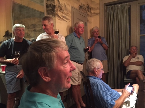 6-23-15 Steak Night: ATAGers wait for match results