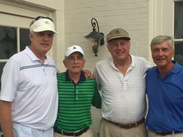 7-14-15 Winning Team: Kevin McGlynn, Jeff Kohn, Jeff Colbath, Ron Majors
