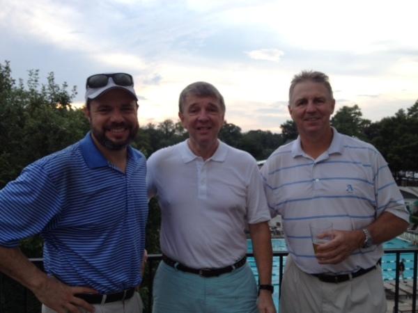 7-28-15 Winning Team: David Danzig, Jim Williamson, Mike Schmal (not pictured Doug Gooding)