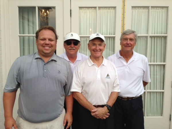 6=30-15 Winning Team: Anthony Morgan, Tom Kisgen, Don Nichols, Ron Majors