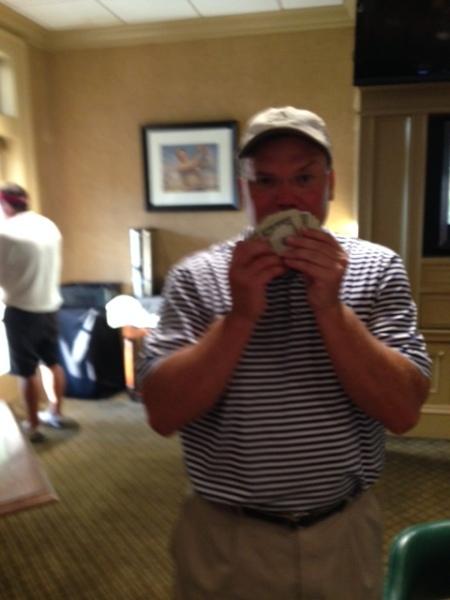 8-4-15 Low Net Winner Tim Martin