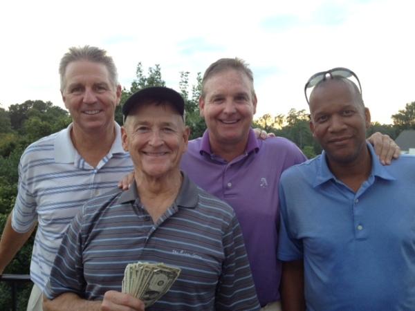 8-11-15 Winning Team: Mike Schmal, Don Nichols, Tom Houle, William Thornton