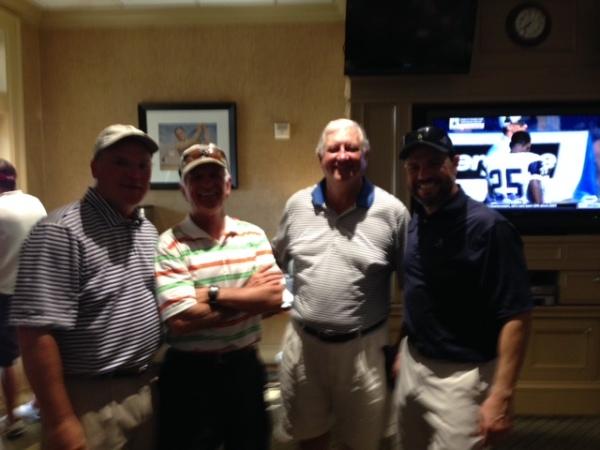 8-4-15 Winning Team: Tim Martin, John Wymer, Mike Gaddis, David Danzig