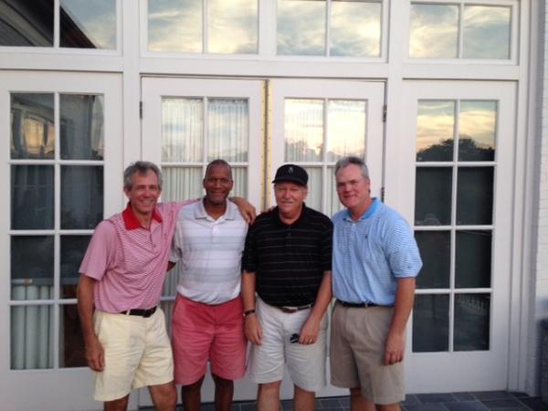 9-1-15 Winning Team: Brooks Cowles, William Thornton, Tom Kisgen, and Tim Martin