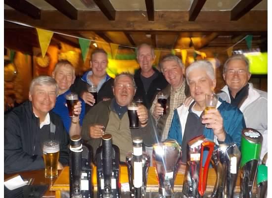 ATAG Ireland 2015 International Team: Ron Majors, Don Nichols, Tom Houle, Tom Player, Doug Healy, Jim Williamson, Kevin McGlynn, Russ Jobson