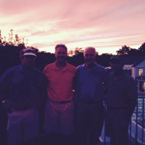9-15-15 Winning Team: Bill Meagher, Mike Schmal, Frank Corrigan, Jeff Kohn