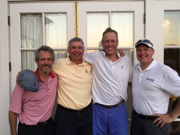 4-26-16 winning team: Brooks Cowles, Danny Morris, Scotty Greene, and Tom Lewis Tom Lewis