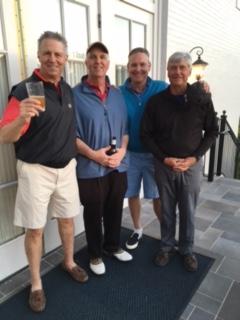 4-5-16 Winning Team: Mike Schmal, Frank Corrigan, Tom Houle, Ron Majors