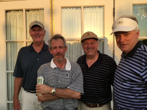 5-10-16 Winning Team: Doug Healy, Brooks Cowles, Jeff Colbath, Kevin McGlynn