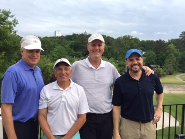 5-17-16 Winning Team: Kevin McGlynn, Jeff Kohn, Doug Healy, David Danzig