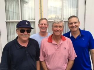 6-14-16 Winning Team: Tom Kisgen, Pat Murphy, Ron Majors, Tom Houle