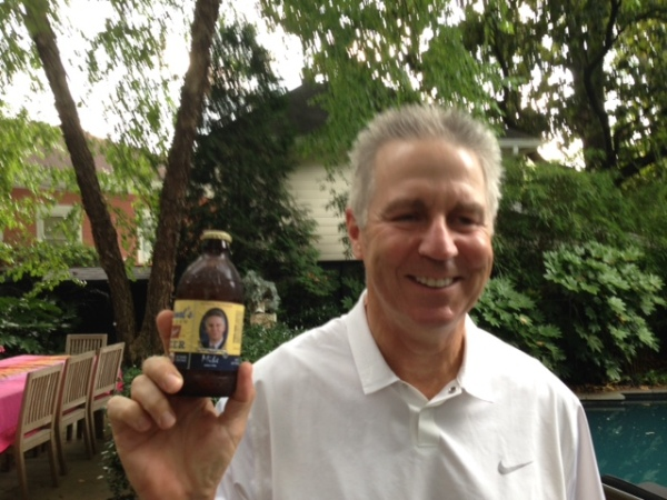6-21-16 Mike Schmal introduces Schmal Beer to the group