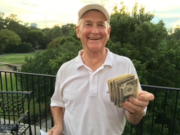 8-16-16 Low Net Winner Don Nichols