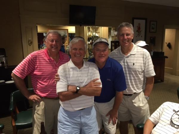 8-23-16 Winning Team: Jeff Colbath, John Wymer, Tim Martin, Mike Schmal