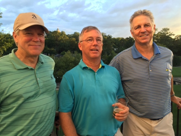 8-9-16 Winning Team: Craig Sellner, Doug Gooding, MIke Schmal (not pictured Frank Corrigan)