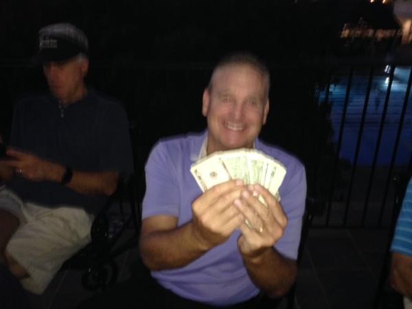 10-4-16 Low Net Winner Tom Houle